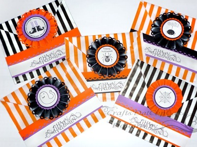 #7 Halloween Crafts Series 2012 - Candy Bags - Tutorial