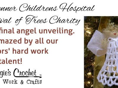 Brenner Children's Hospital Festival of Trees - Maggie's Crochet 5