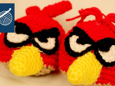 CROCHET ANGRY BIRD - Left Hand Crochet Geek