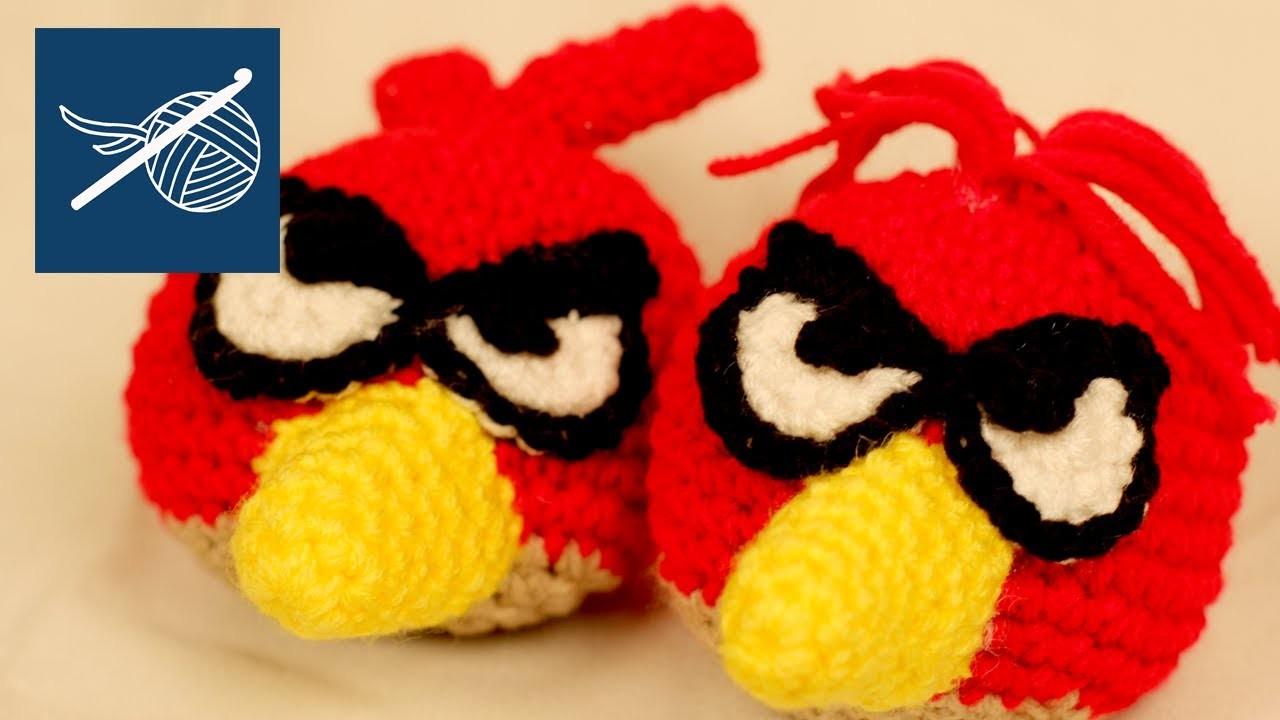 CROCHET ANGRY BIRD - Left Hand Crochet Geek