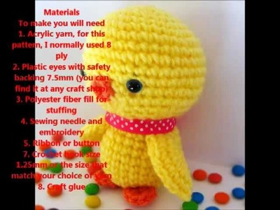 Crochet Chick-Knitted Toy-Healthy Toys