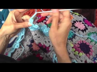 Crochet edging wip