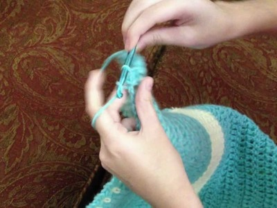 """Crochet """"How to"""" Video #4  -   Making a Border"""