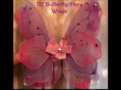 DIY Butterfly.Fairy Wings- Halloween