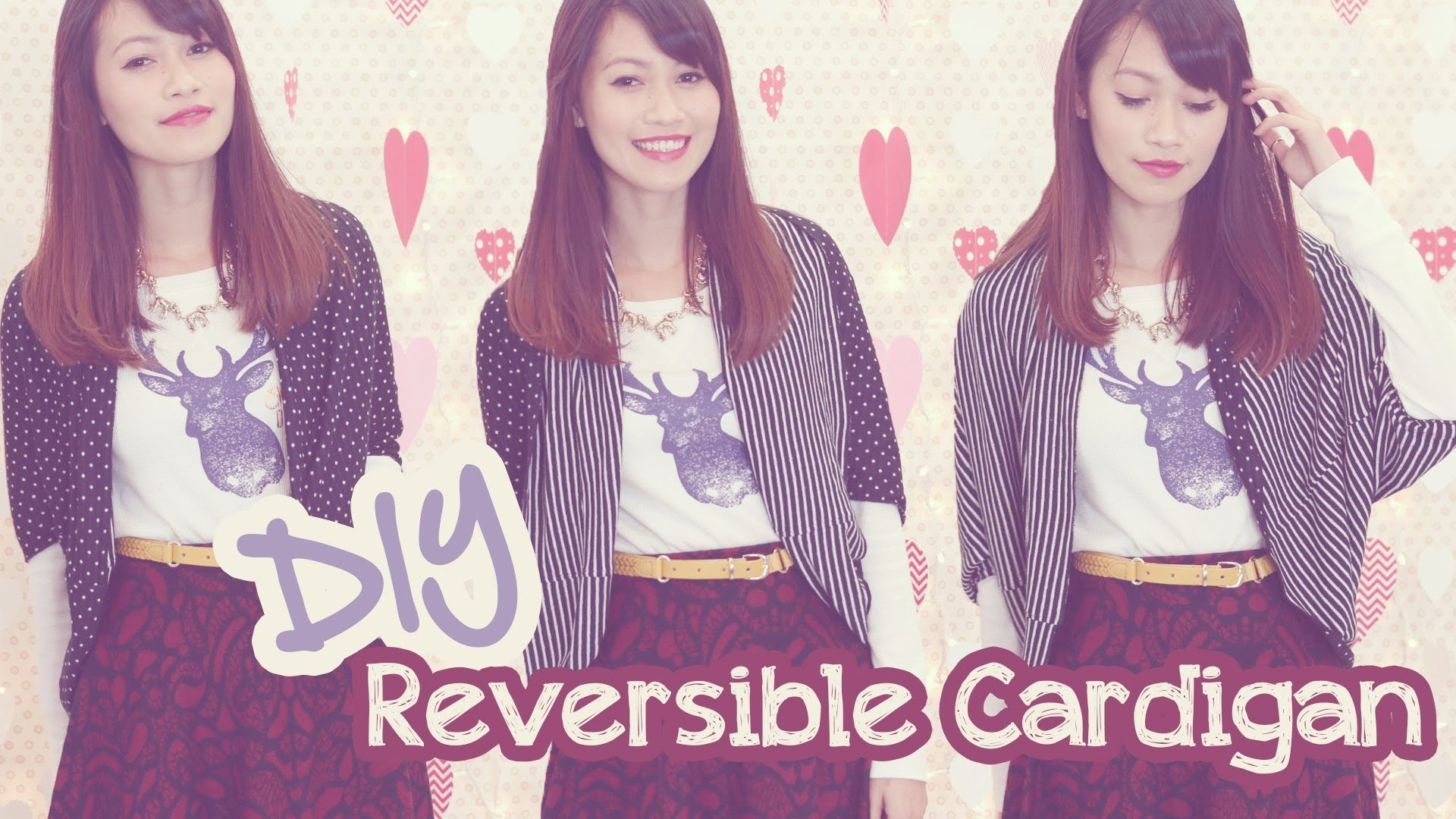 ☂ DIY: Cardigan Worn 5 Ways!!