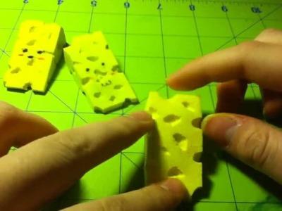 DIY Cheese Squishy :D ^_^