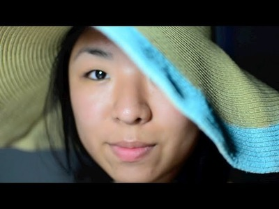 ✂ DIY Colour Blocked Hat