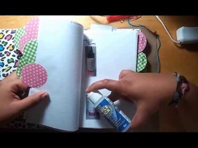 DIY Craft Supply Inventory Book