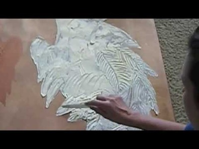 DIY HOW TO MAKE 3D PAINT ANGEL WINGS tutorial