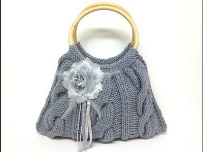 DIY how to make a sweater purse