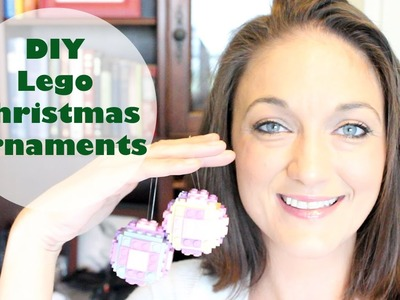 DIY Lego Christmas Ball Ornament | Great For Kids