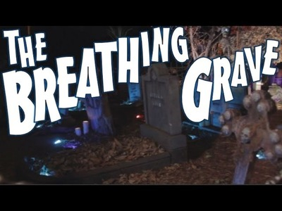 DIY Motorized Breathing Grave Prop: A Creepy Ground Moving Halloween Decoration