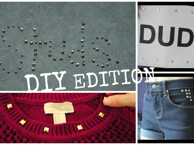 DIY Projects with Studs!