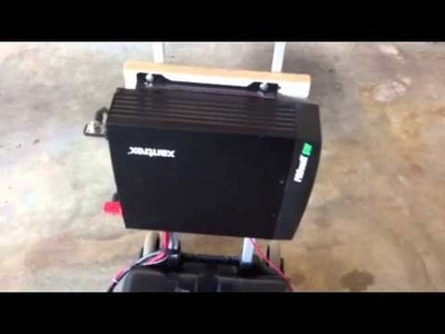 DIY- Revised Home Built 1800w Portable Solar Backup Generator