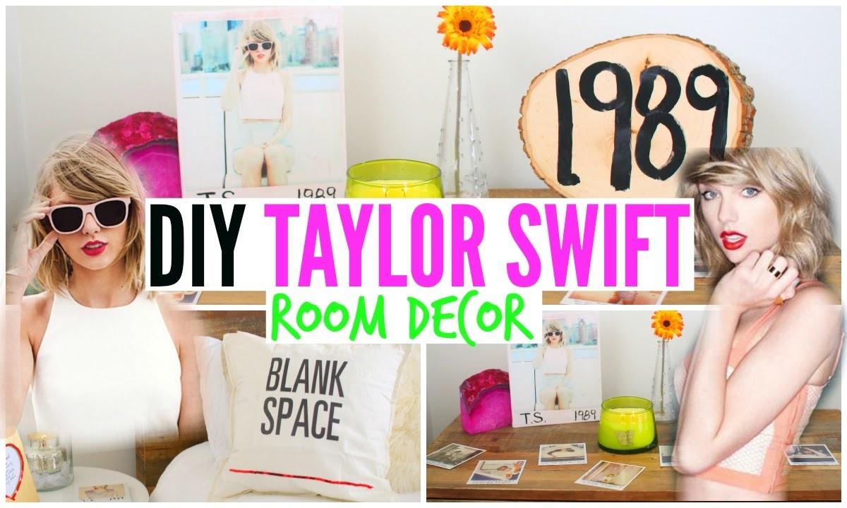 DIY Taylor Swift Room Decor! Cheap & Simple!