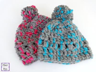 Episode 157: How To Crochet Happy Kid Lids