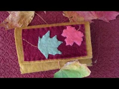 Felt Photo Pockets with Kata Golda (Part 1)