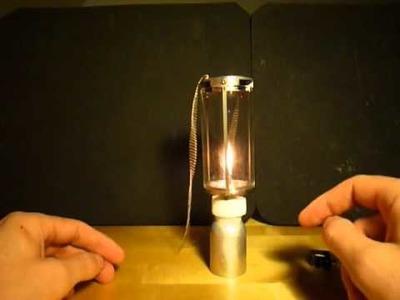 Gear Review: Mini Lantern (DIY)