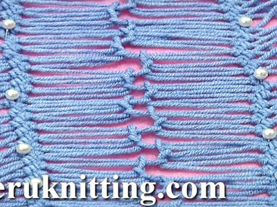 How to Join Hairpin Lace Strips Tutorial 18 Part 3 of 4 Hairpin Lace Joining Techniques