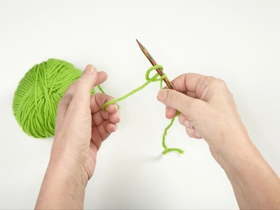 How-to Knit * Basics #03 * Cast On * Loop Cast On