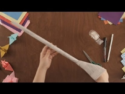 How to Make a Paper Sword : Paper Art Projects