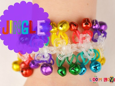How to Make a Rainbow Loom Jingle Bracelet