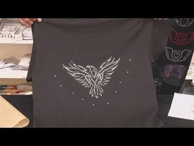 How To Make A Rhinestone Transfer