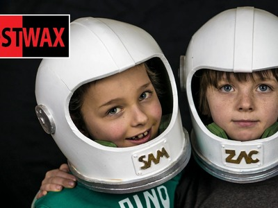 How To Make A Space Helmet, DIY Astronaut Halloween Costume From Foam!