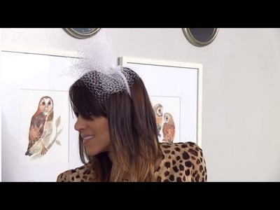 How to Make a Tulle Headpiece - Easy Wedding DIY