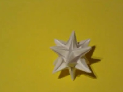 How to make an Origami Omega Star