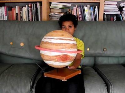 How to make Jupiter planet model