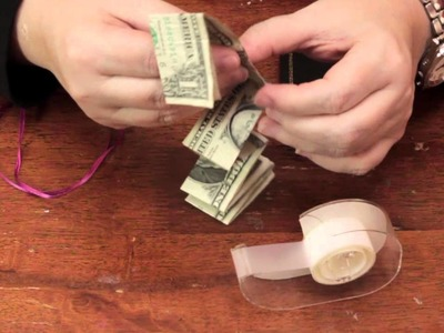 Ideas to Wrap Dollar Bills : Fun & Decorative Crafts