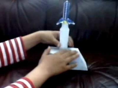My master sword papercraft model