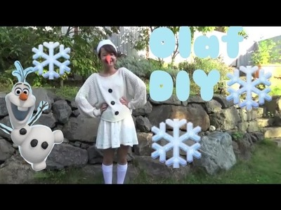 {Olaf Halloween Costume} DIY
