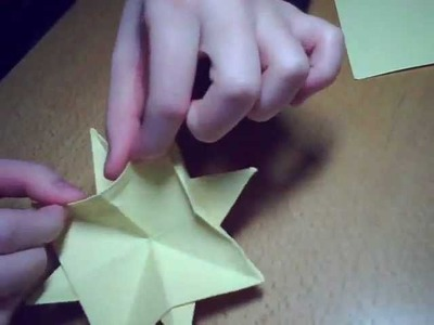 Origami 8-point Star