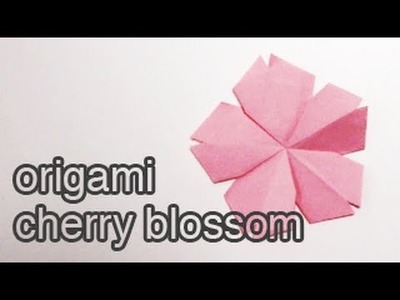 Origami Cherry Blossom Tutorial