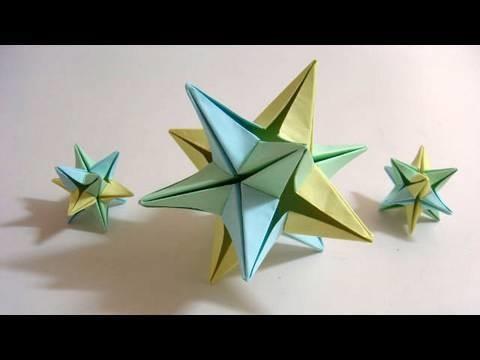 Origami Omega Star (Philip Shen) - 6 modules