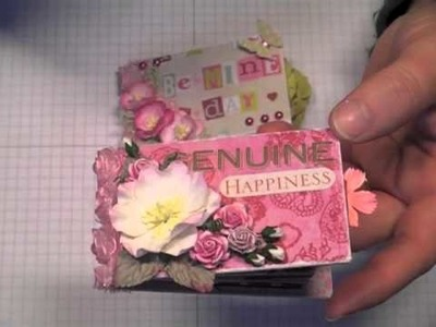 Quick Valentine's Day Teeny Mini Albums