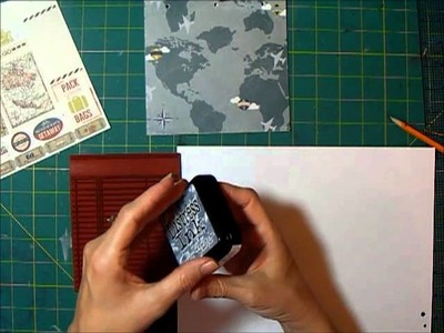 Travel Journal with 6x6 Paper Pads