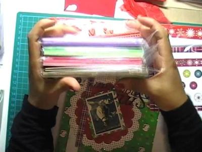 UK Craft Haul video and uk online shops - December 2010
