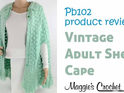 Vintage Adult Shell Cape Product Review PB102