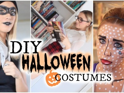 3 DIY Halloween Costumes