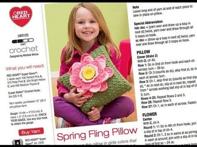 Crochet Along: Spring Fling Pillow Part 1