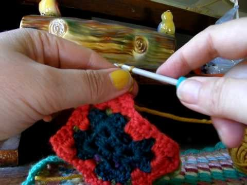 Crochet School :: Lesson 10 :: The SImplest Way To Join Granny Squares