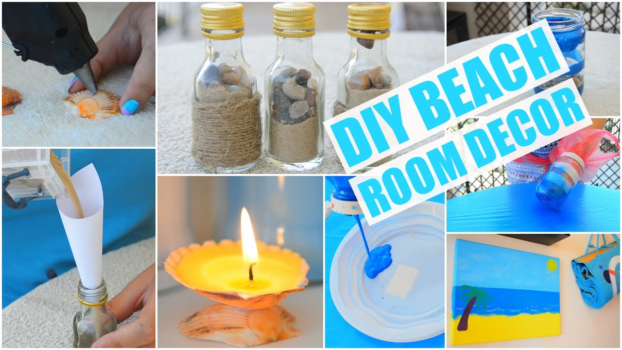 DIY Beach.Nautical Themed Room Decor | ErinRachel