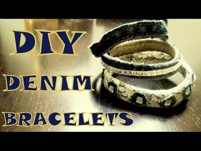 DIY Bracelets (Denim)