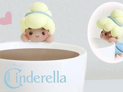 DIY Disney's Cinderella Polymer Clay Cup Companion