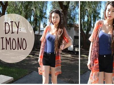 ✂ DIY: Easy Kimono