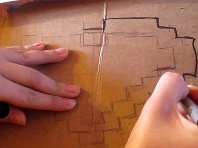 DIY La La La Heart Chain -LMFAO Heart necklace
