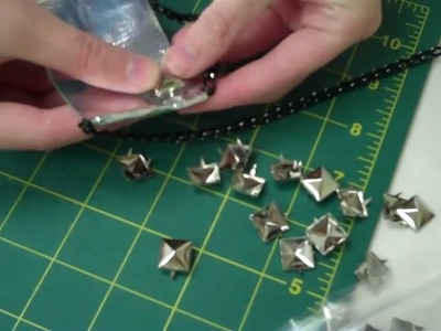 DIY Material Girl Necklace  by  New York  Design Shop